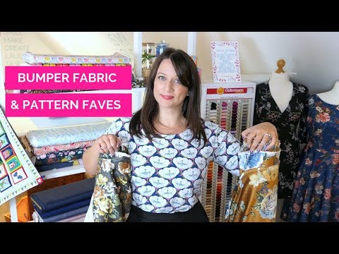 Bumper Fabric & Pattern Favourites