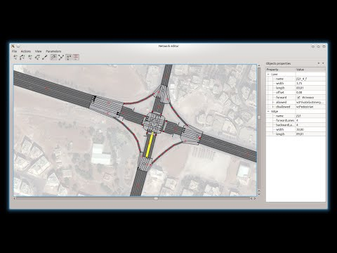 Yo!Editor - The powerful tool for editing Unified Road Network Model (a prototype)