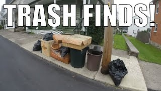 Trash Picking for Free Treasures - Not the BEST Spot Ep. 86