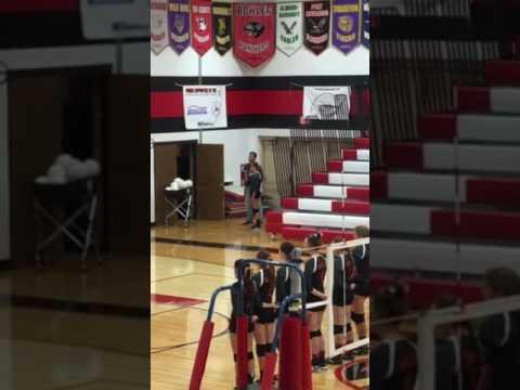 Senior at Bowler High School sings National Anthem
