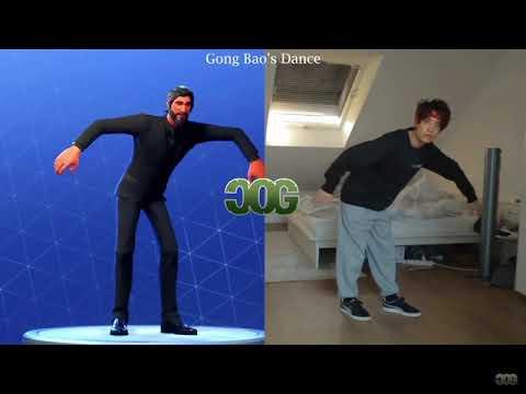 Todos los bailes de fortnite en la vida real ft Cinema of gaming