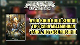 tips cara bikin build item sendiri ketika melawan tank yang super keras