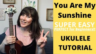 You Are My Sunshine Tutorial | Best Beginner Ukulele Song!! | Cory Teaches Music