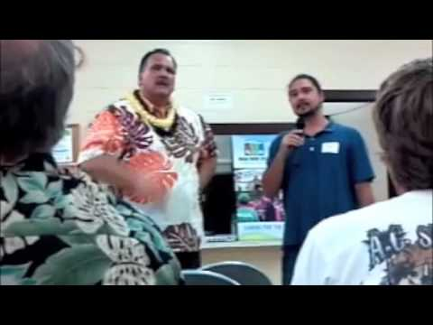 Mayor of Kauai at Koloa Community Meeting- Savekoloacamp.m4v