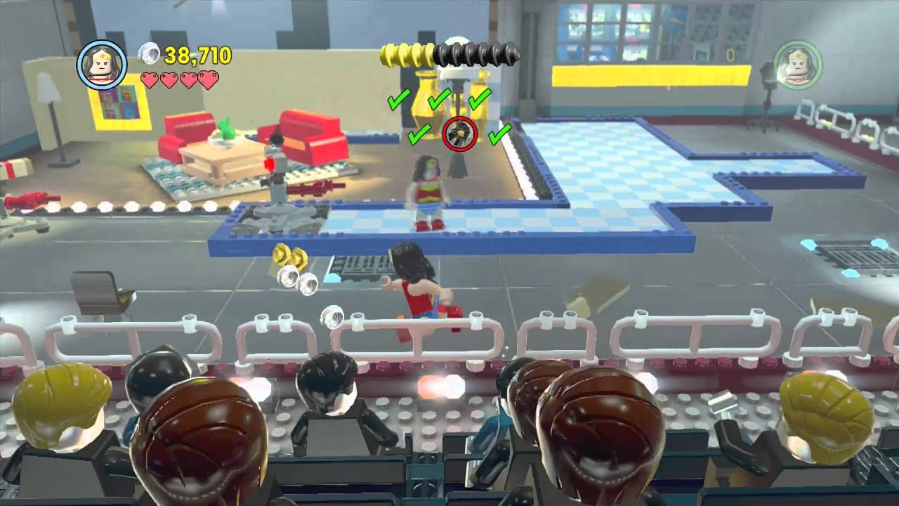 LEGO The Lego Movie Videogame - Level 12: Broadcast News (Gold Manuals / Pants)