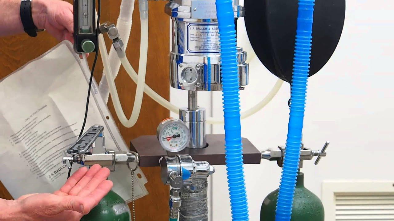Anesthesia Rebreathing System Youtube