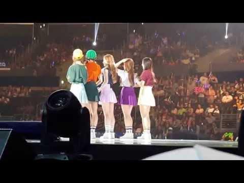 [Fancam] Red Velvet - Introduction @ KCON LA 2015