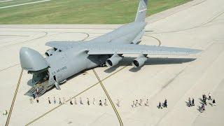صور لأضخم طائرة نقل عسكرية أمريكية