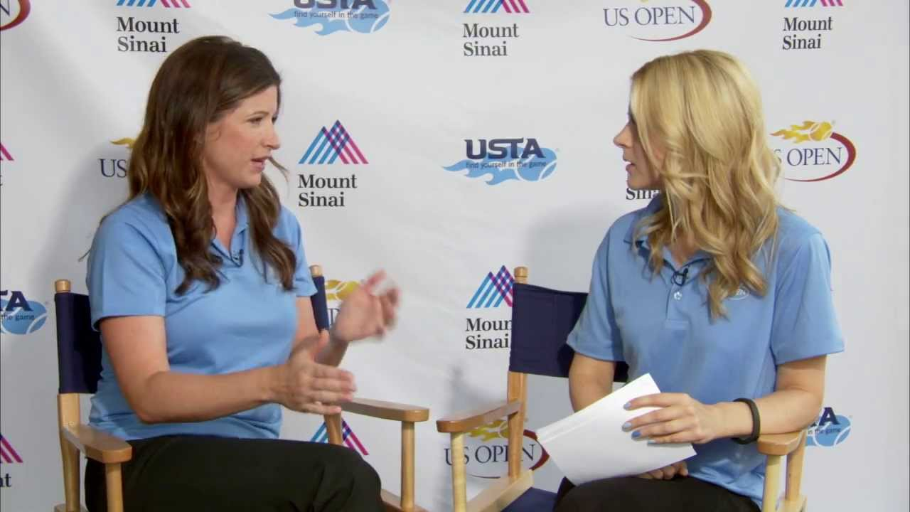 Dr. Abigail Allen Discusses How to Keep Young Athletes Safe on the Court at the US Open
