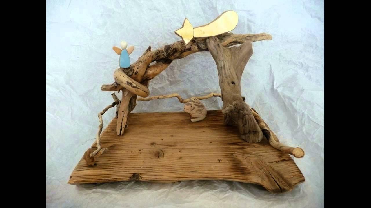 I presepi in legno di stefano menghi 2012 youtube for Legni di mare arredamento