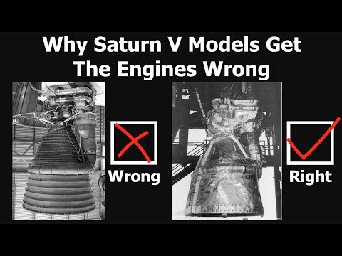 Why The Engines That Flew On Saturn V Rocket Look Different In Museums Youtube