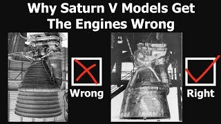 Why The Engines That Flew On Saturn V Rocket Look Different In Museums