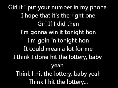 Chris Brown - Lottery (Lyrics on screen) karaoke Exclusive