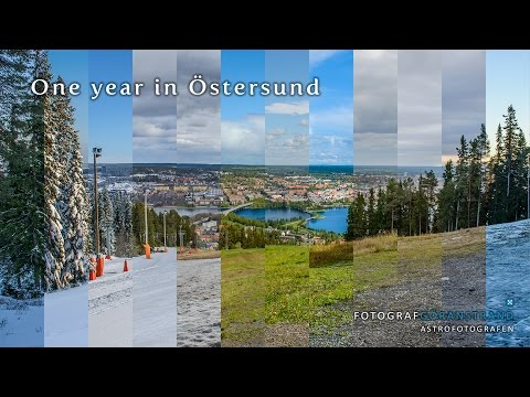 One year in Östersund