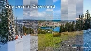One year in Östersund