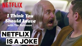 'The Man' ft. Will Forte | I Think You Should Leave with Tim Robinson | Netflix Is A Joke