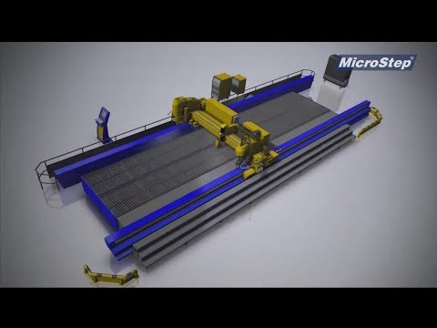 MG – Multi-functional CNC cutting and drilling machine / Video