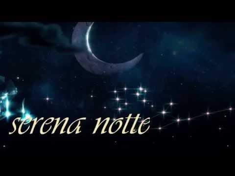 Buonanotte e dolci sogni per te