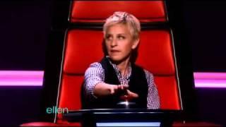 Ellen Goofs On 'The Voice'