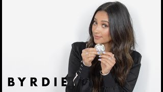 Shay Mitchell's Top 5 Makeup Essentials | Just Five Things | Byrdie