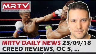 DAILY NEWS #69: Creed Rise To Glory Reviews, OC5 Predictions, Amazon Sumerian Challenge