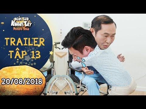 Ngôi sao khoai tây | trailer tập 13: Huy Khánh xúc động mạnh vì lo cho ba vợ Anh Tuấn khi phẫu thuật