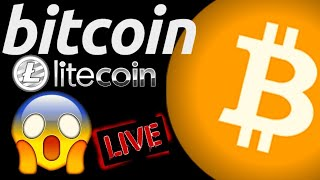 🌟 BITCOIN and LITECOIN LIVE STREAM🌟bitcoin price prediction, analysis, news, trading