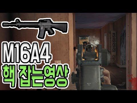 [배틀그라운드] M16A4로 핵 잡는영상 / 1분 하이라이트 / 배그 공략 & 팁 [위드]