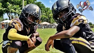 10u Ftl Hurricanes vs #1 Miami Gardens Bulldogs | Footballville Football Highlights