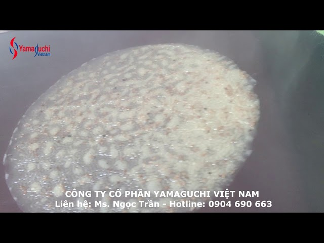 Máy làm bánh đa vừng tròn - Máy làm bánh đa vừng Quảng Nam - Hotline: 0904 690 663