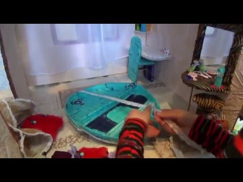 видео: Домик своими руками для монстер хай