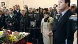 Прощание с Валерием Ободзинским (сюжет ТВ, 30.04.97)
