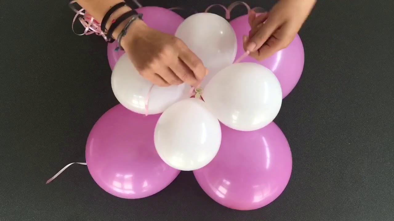 composizione palloncini, bouquet di palloncini, centrotavola palloncini