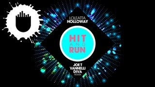 Loleatta Holloway - Hit & Run (Joe T Vannelli Diva Remix) (Cover Art)
