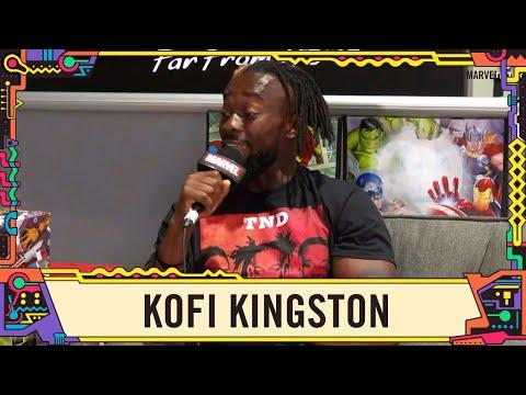 WWE Champion Kofi Kingston join us on Marvel LIVE SDCC 2019!