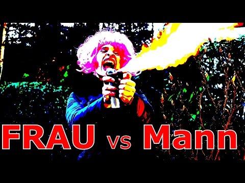 FRAU vs MANN - DUELL DER GIGANTEN // HOT BANANA