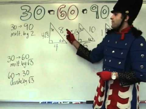 Geometry - 30-60-90 Triangles