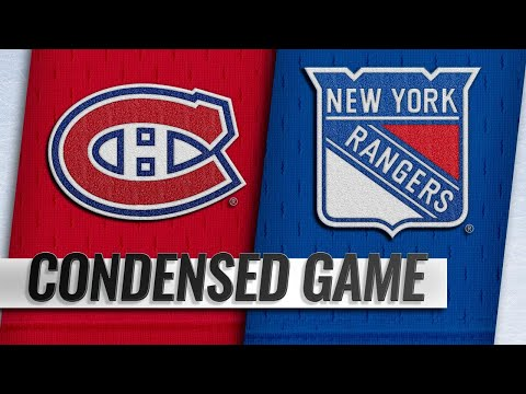 11/06/18 Condensed Game: Canadiens @ Rangers