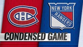 11/06/18 Condensed Game: Canadiens @ Rangers