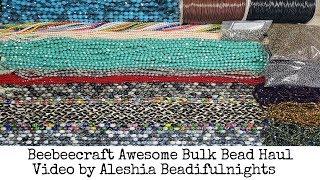 Beebeecraft Awesome Bulk Bead Haul