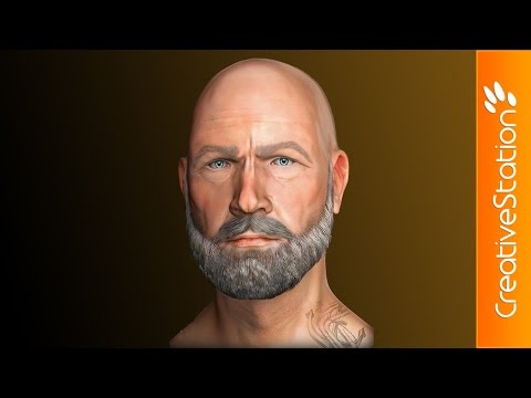 Gentleman - 3D Speed modelling (#ZBrush) | CreativeStation