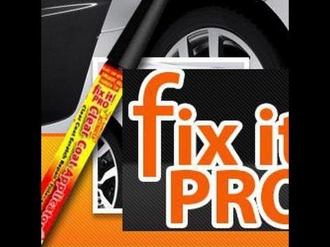 รีวิวปากกาลบรอยขีดข่วนสีรถ ปากกาแต้มสี Fix it pro Thailand [HD]