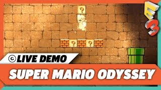 Super Mario Odyssey: 15 Minutes Of Hot Gameplay | E3 2017 GameSpot Show