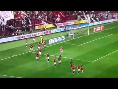 Japan JLeague football soccer culture Urawa Reds 1-0 Nagoya Grampus post-game fan service