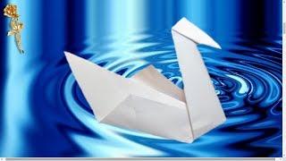 Origami facile : Cygne