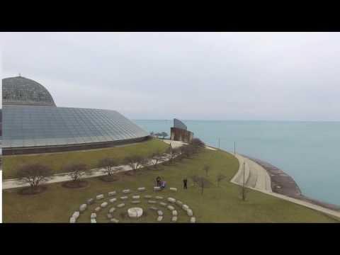 Museum Campus Drone Slide Show