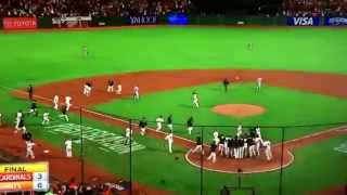 2014 San Francisco Giants win the pennant!!!