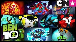 Ben 10 Mundos Alienígenas | Todos Los Planetas | Ben 10 en Español Latino | Cartoon Network