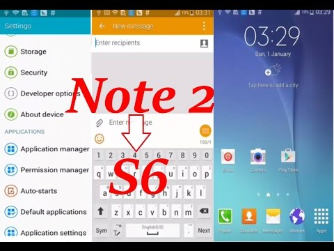 How to Update Samsung Galaxy Note2 SM-N7100 Like Note 4 and S6
