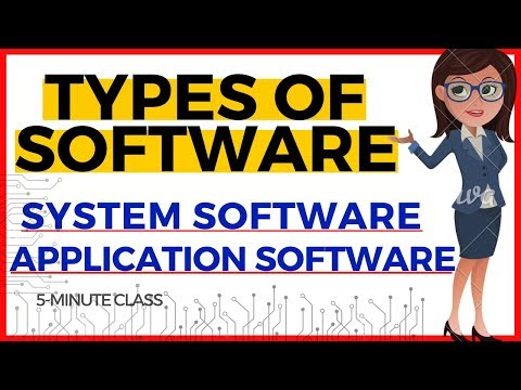 Types Of Software | System Software and Application Software